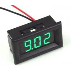 Цифровой встраиваемый вольтметр 0-30