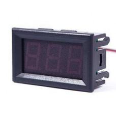 Цифровой встраиваемый вольтметр DC 0 -100 В