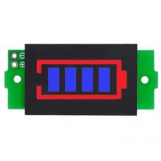 Цифровой вольтметр DC заряда батареи