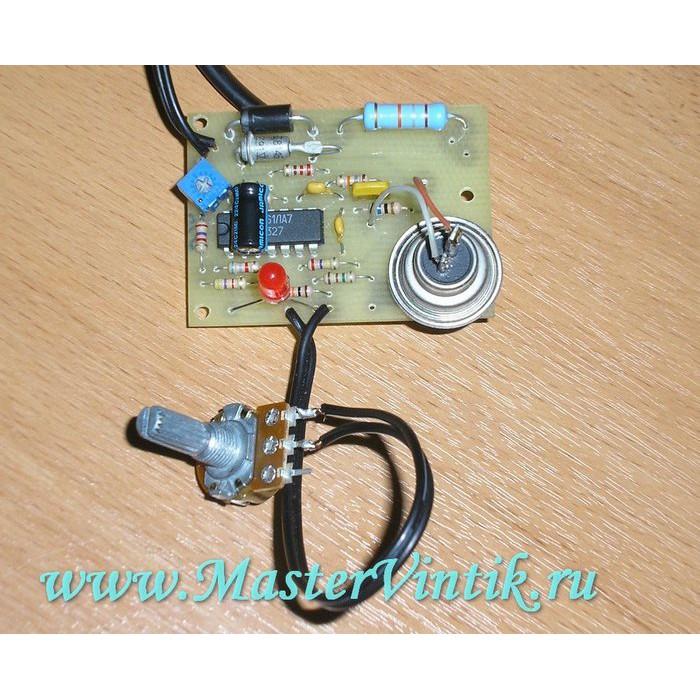 Простая и надёжная схема терморегулятора для инкубатора ...