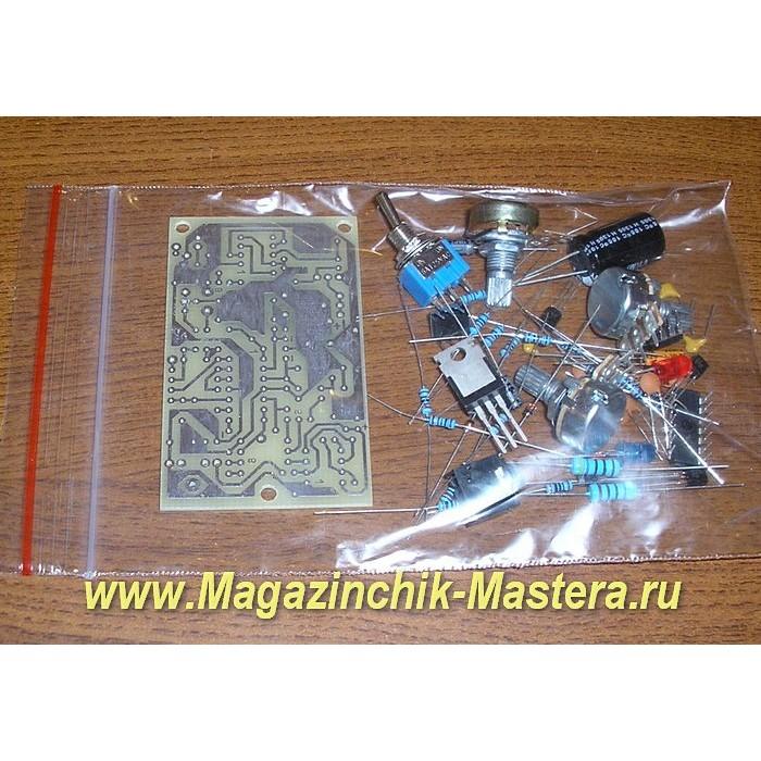 Набор для самостоятельной сборки импульсного металлоискателя.