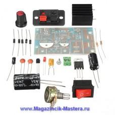 Набор для сборки регулируемого стабилизатора на LM317